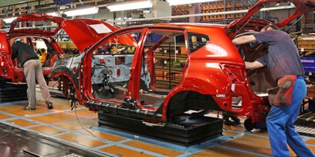 Otomotiv sanayisinin üretimi 2020'de yüzde 11 azaldı