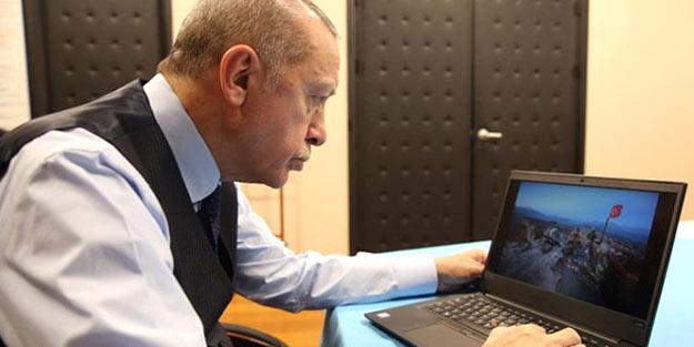 Oyunu kullandı! İşte Erdoğan'ın gözünden 2018'in en iyi 3 karesi