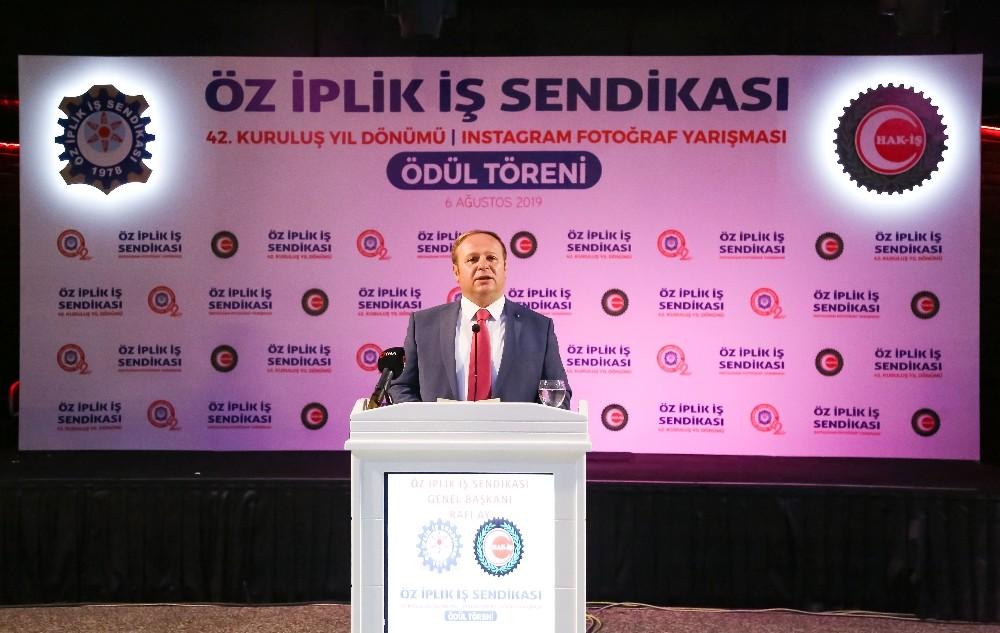 Öz-İplik Sendikası 42'nci kuruluş yıl dönümünü kutladı