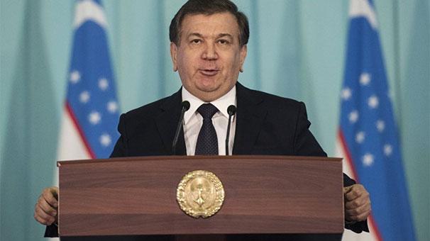 Özbekistan Cumhurbaşkan Mirziyoyev'den Erdoğan'a tebrik
