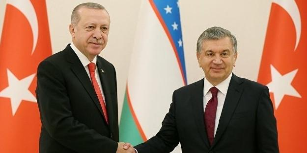Özbekistan Cumhurbaşkanı Mirziyoyev: Tüm olanaklarımızı seferber etmeye hazırız