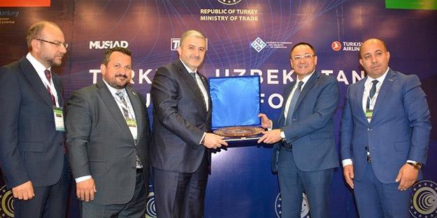 Özbekistan ile yatırım fırsatlarına kapı aralandı