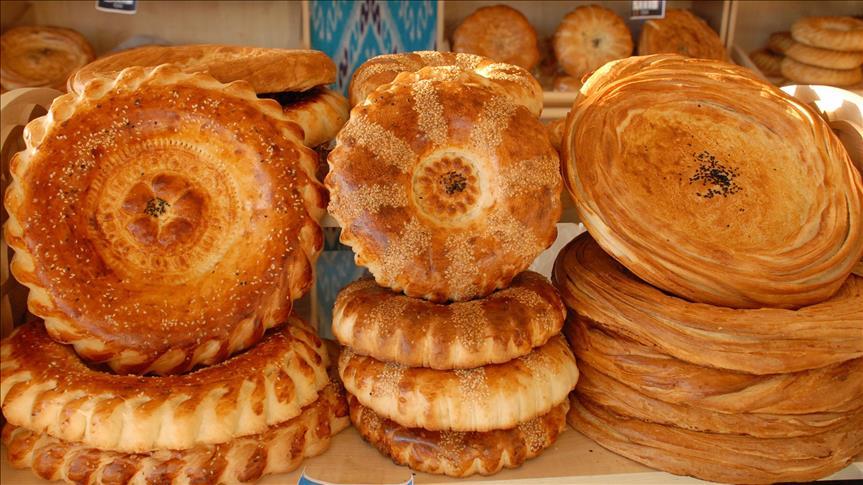 Özbeklerin zengin ekmek kültürü