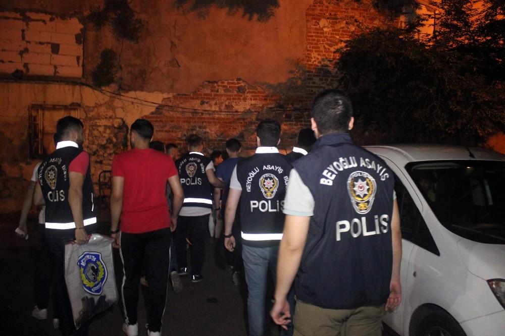 (Özel) Beyoğlu'ndaki trafik magandaları yakalandı: 7 gözaltı