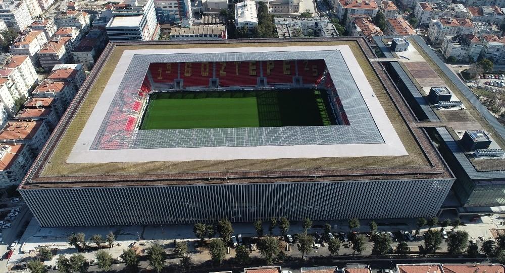 (Özel Haber) Türkiye'de ilk olacak stadyum gün sayıyor