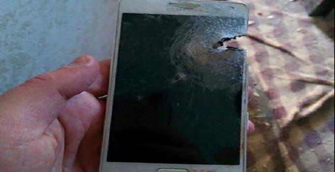 Özel harekatçıyı ölümden cep telefonu kurtardı