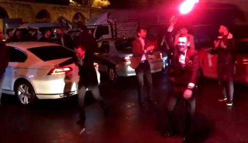 (Özel) İstanbul'da düğün konvoylarında şoke eden görüntüler kamerada