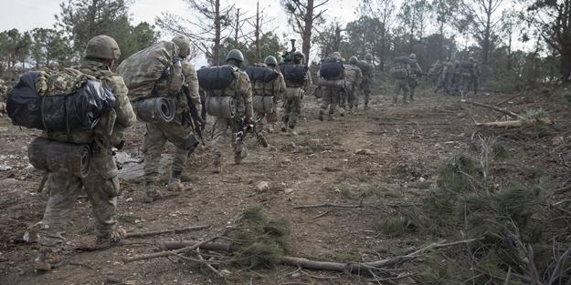 """Özel kuvvetlerden Afrin'de """"Silme operasyonu"""""""