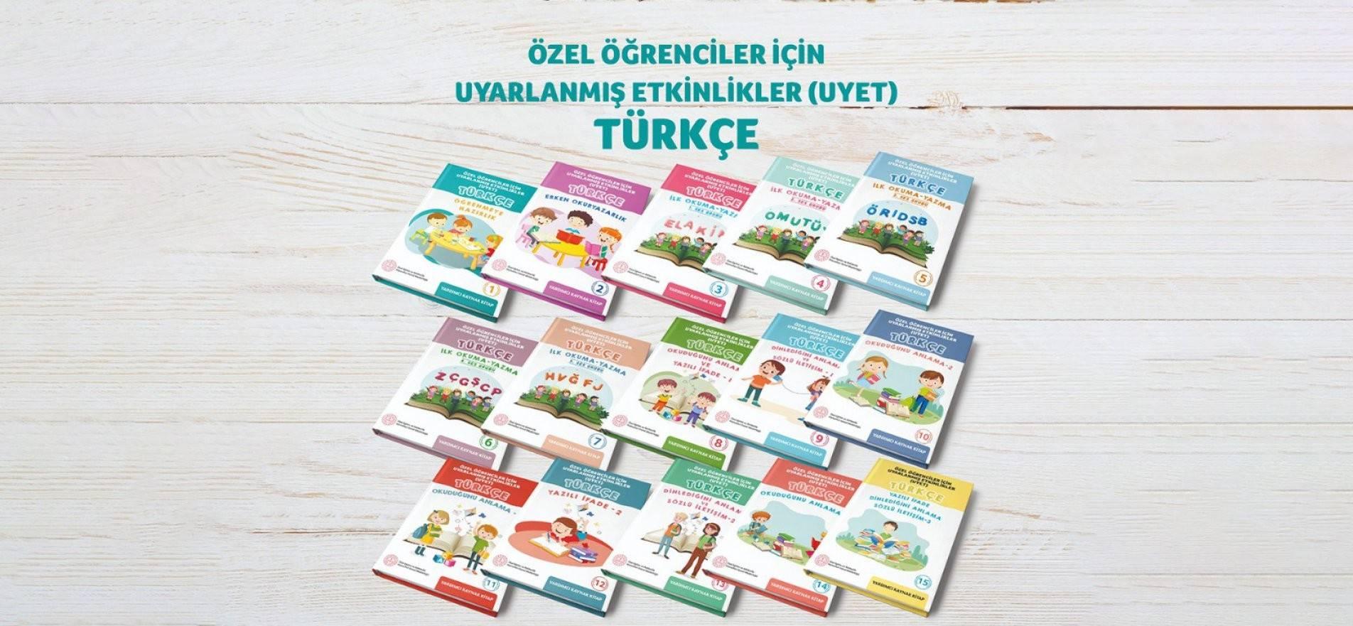 Özel öğrencilere Türkçe Dersi Etkinlikler Seti