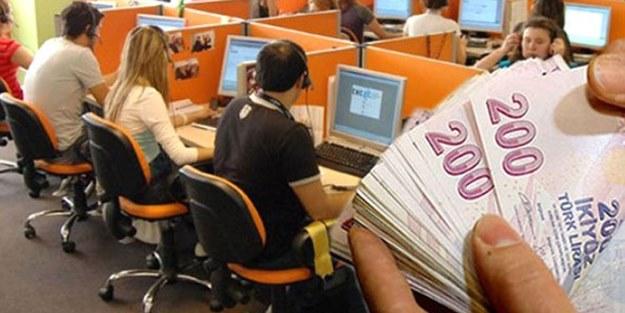 Özel sektörde çalışan 44 bin kişinin maaşı devletten