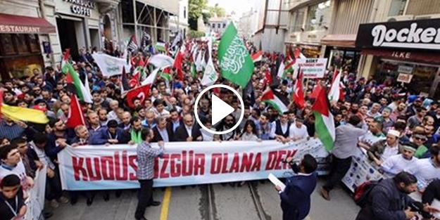 Özgür Gazze ve Mavi Marmara Yürüyüşü