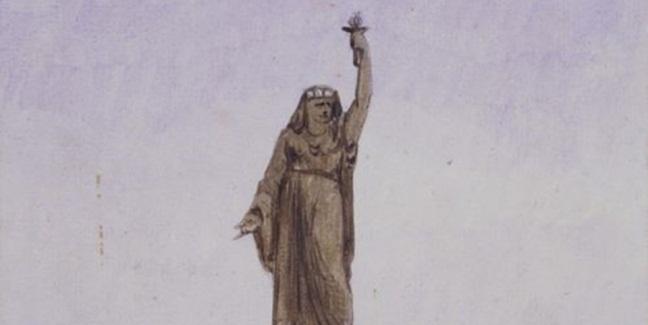 Özgürlük Anıtı aslında Müslüman kadın olarak tasarlanmış