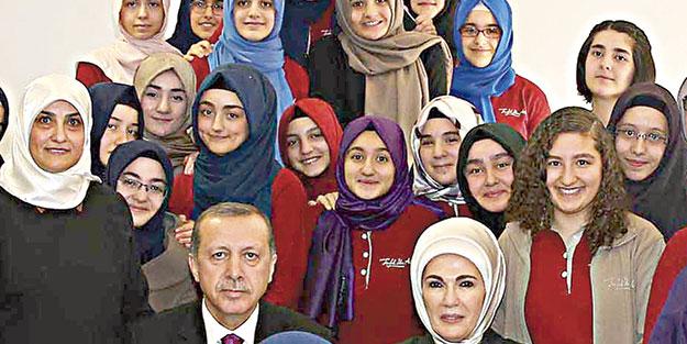 Özgürlükler Erdoğan ile geldi