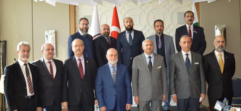 Pakistan Hava Kuvvetleri Komutanı ASSAM'ı ziyaret etti