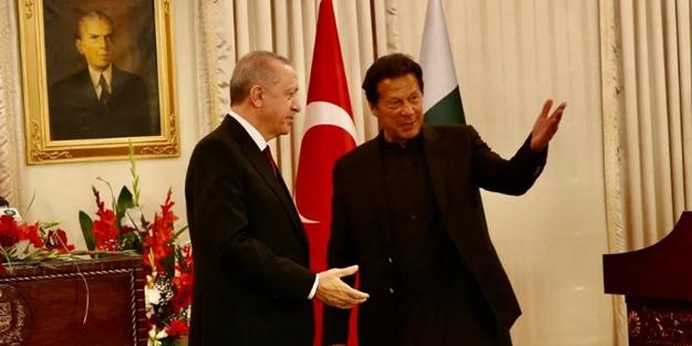 Pakistan'dan Erdoğan'a büyük jest!