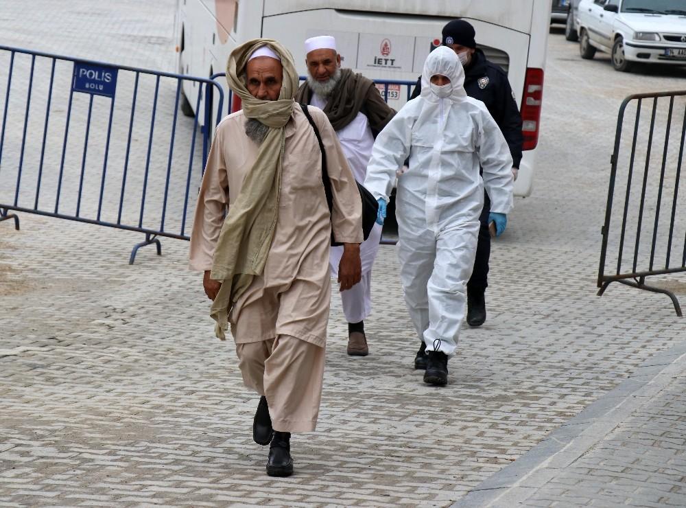 Pakistan'dan gelen 20 kişi Bolu'da karantinaya alındı