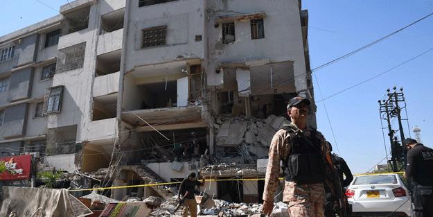 Pakistan'da patlama: Ölü ve yaralılar var
