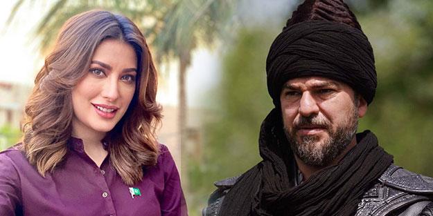 Pakistanlı oyuncudan olay Diriliş Ertuğrul ve Engin Altan Düzyatan yorumu!