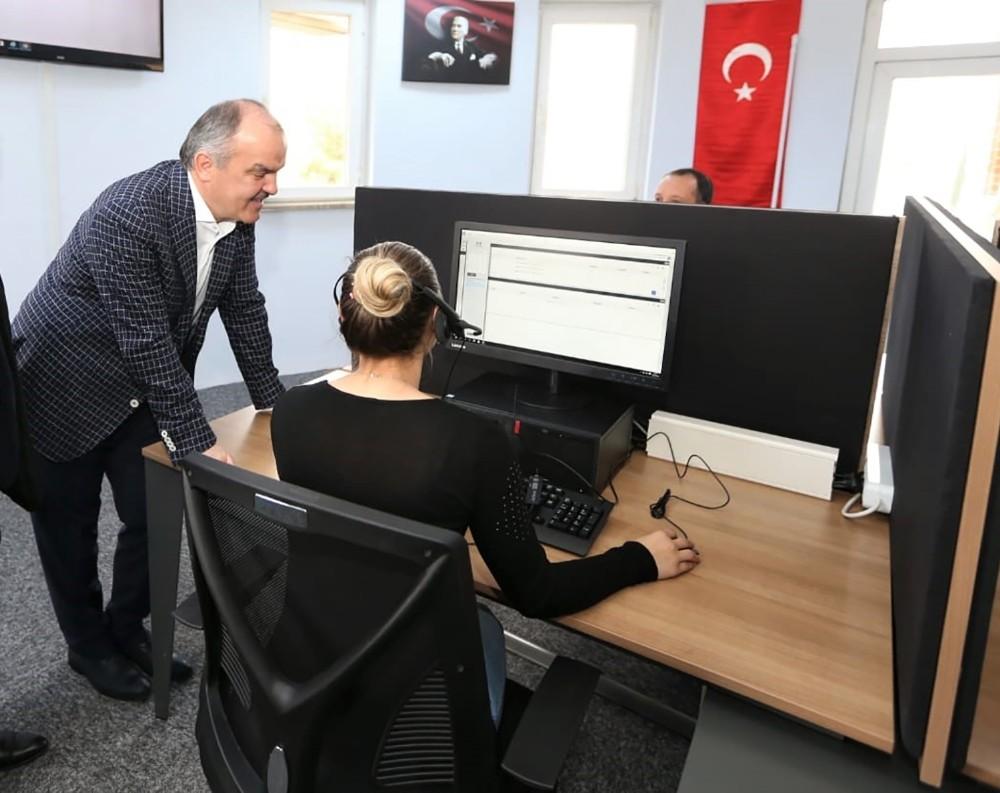 Pamukkale Belediyesi Çağrı Merkezi hizmete başladı