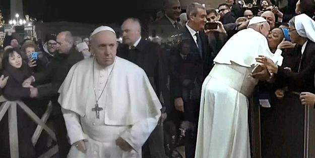Papa çizilen karizmayı düzeltme derdine düştü!