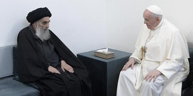 Papa Franciscus, Sistani ile görüştü