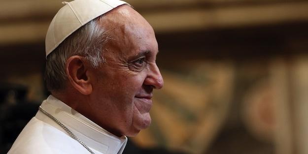 Papa Francis'ten flaş açıklama! 'Onlar birer terörist'