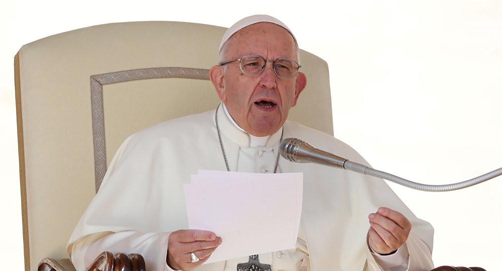 Papa'dan ABD ve İran'a çağrı