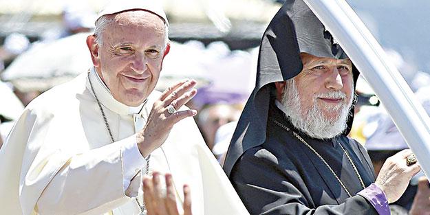 Papa'dan ASALA ağzı!