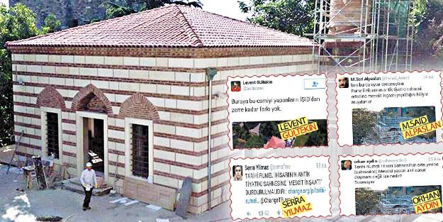 Paralel yapı, Fatih'in inşa ettiği mescidin restore edilmesine karşı!