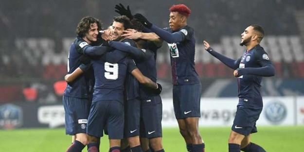 Paris Saint-Germain adını çeyrek finale yazdırdı