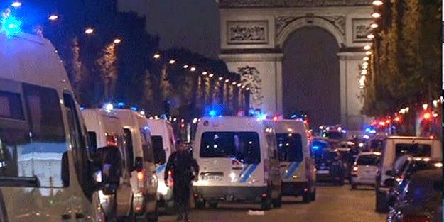 Paris'te kırmızı alarm… Bir polis öldü bir polis yaralandı! Silahlı saldırı