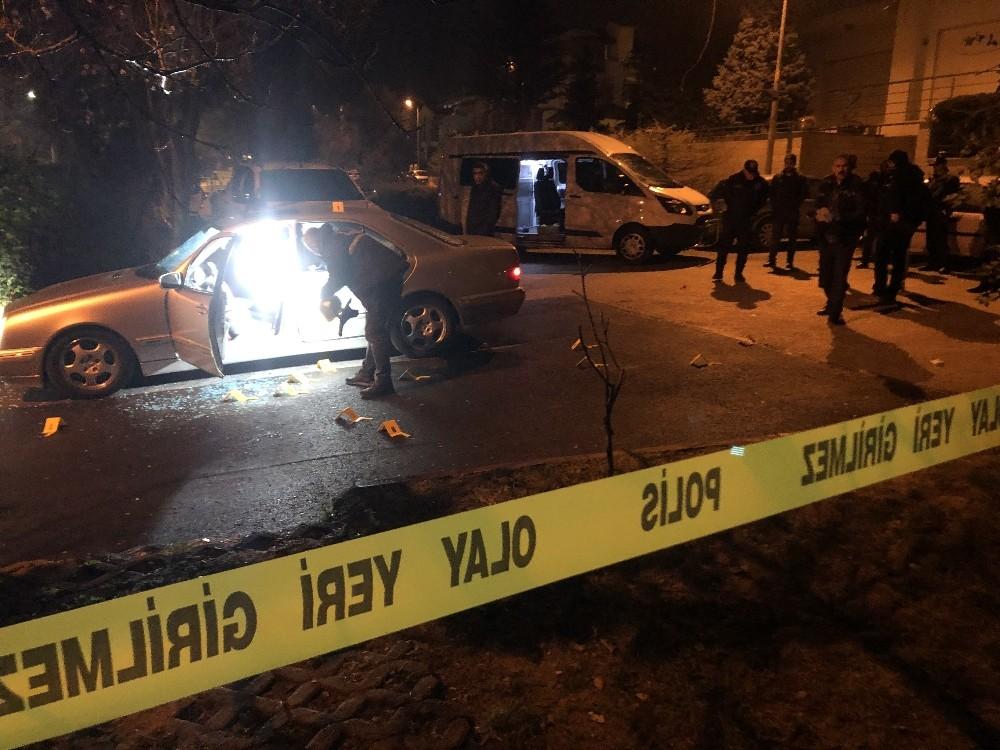 Park halindeki araca silahlı saldırı: 1 yaralı