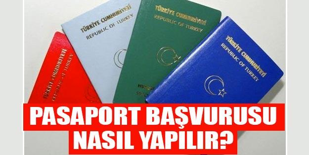 Pasaporta başvuru nasıl yapılır? Pasaport başvurusu nereye yapılır?