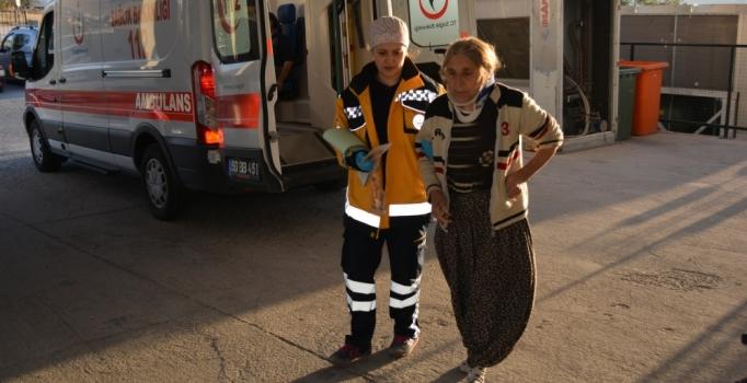 Patates işçilerini taşıyan minibüs takla attı: 13 yaralı