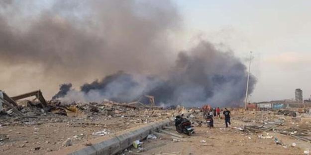 Patlama ne kadar maddi zarar verdi? Beyrut Valisi'nden açıklama