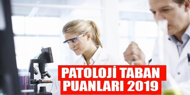 Patoloji taban puanları ve başarı sıralaması 2019 YÖK atlas