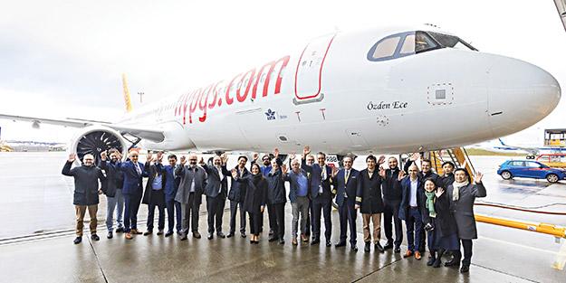 Pegasus'un ikinci A321 Neo'su filoya katıldı