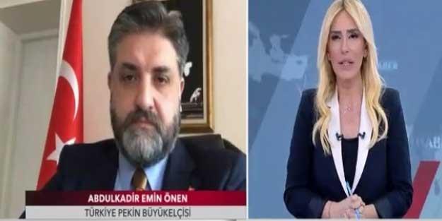 Pekin Büyükelçisi Abdulkadir Emir Önen duyurdu: Türkiye'ye gönderdik