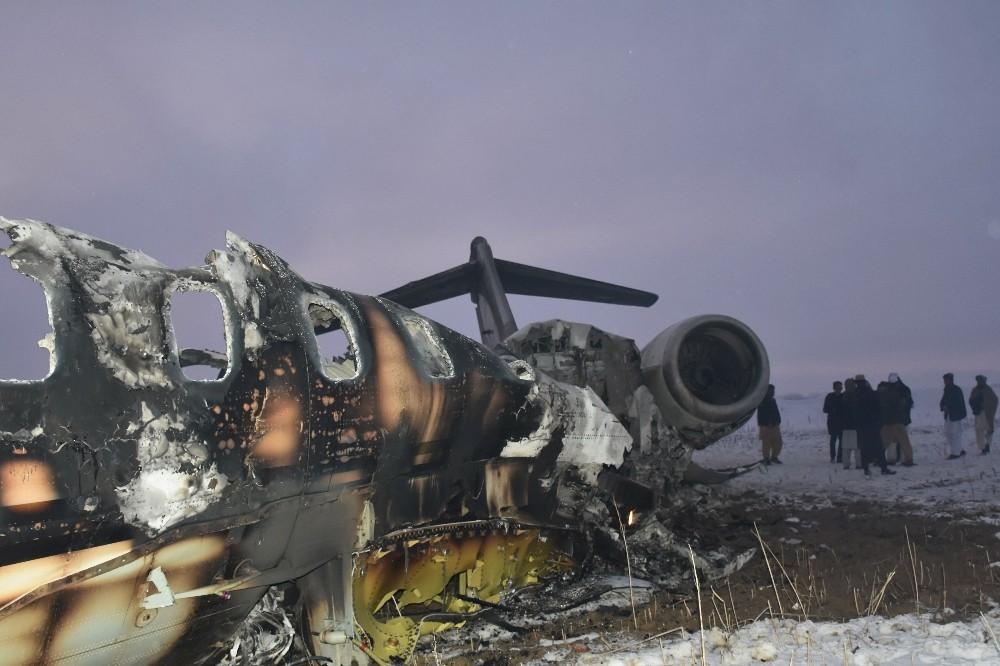 Pentagon Afganistan'daki uçak kazasını doğruladı