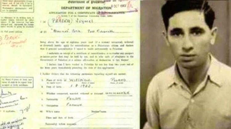 Peres'in vatandaşlık başvurusu ortaya çıktı