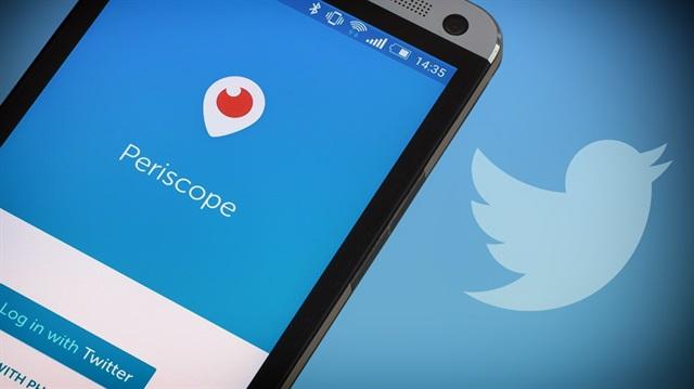 Periscope'a yeni özellik geldi!