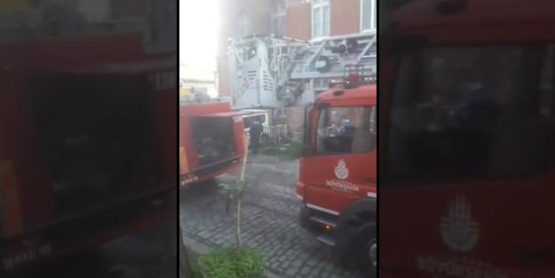 Personel tahliye edildi! Sirkeci Tren Garı'nda yangın paniği