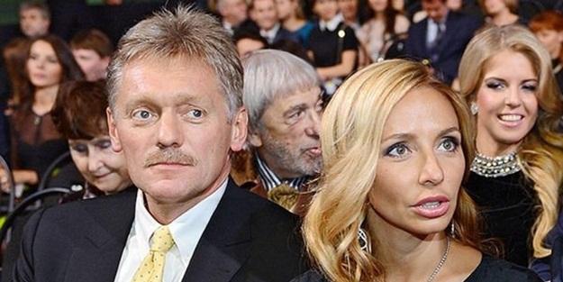 Peskov'dan sonra eşinin de testi pozitif çıktı