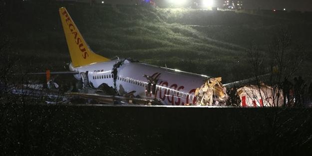 Pistten çıkan uçak ile ilgili flaş açıklama: İki büyük hata var!