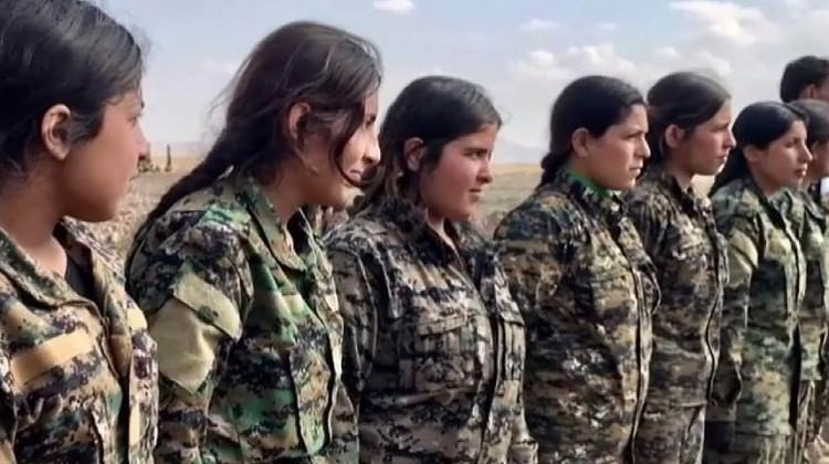 PKK Arap kızlarını da zorla silah altına aldı