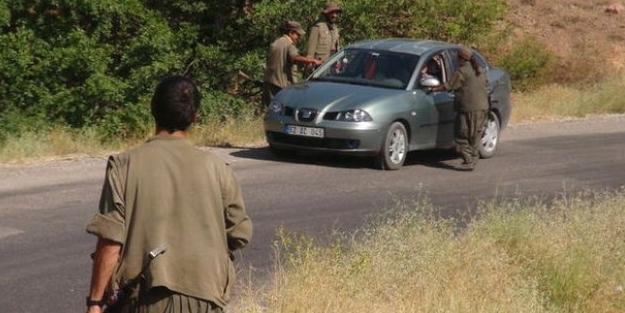 PKK ile birleşip o yolu kestiler!