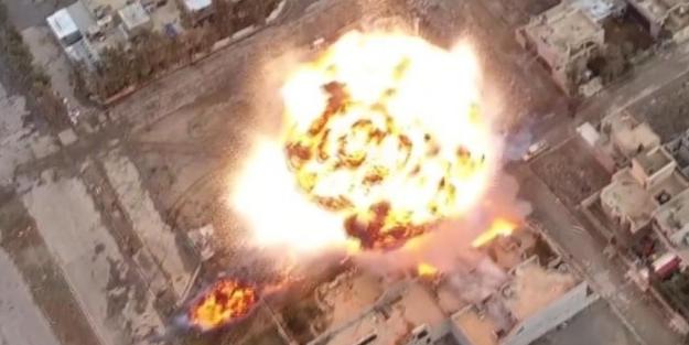 PKK konvoyu vuruldu: 15 ölü