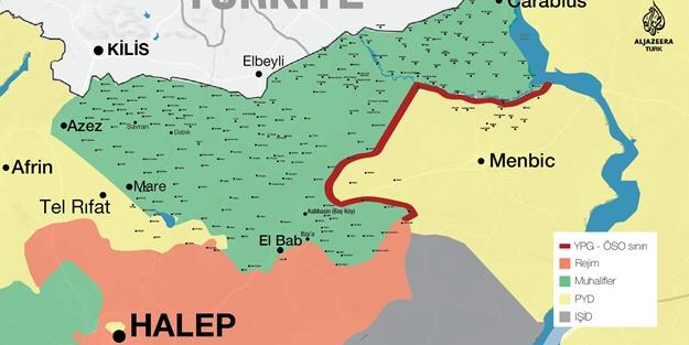 PKK o kentin sınırlarını Esed'e devrediyor