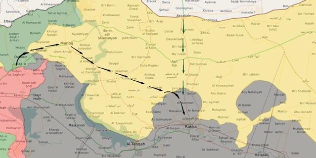 PKK ve Esed Türkiye'ye karşı harekete geçti