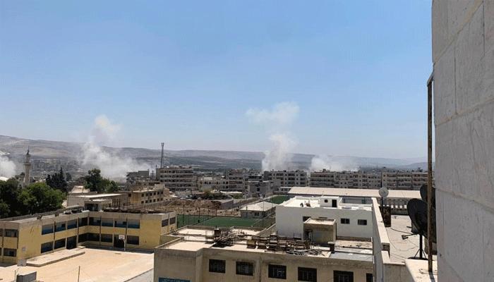 PKK'dan Afrin'de füze saldırısı! Yaralılar var